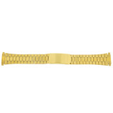 Watch Band Link Metal Gold-Tone Spring Ends 17mm-22mm