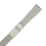 Watch Band Jubilee Style Stainless Link w. Straight Ends