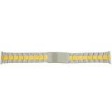Watch Band Link Metal 2-Tone 20mm