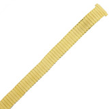 Gold Plated Watch Band Expansion Stretch Strap Ladies