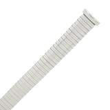 Expansion Metal Stretch Silver Color Watch Band TSMET368