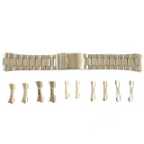 Watch Band Metal Mens Stainless Steel 2-Tone Fits 18mm-22mm