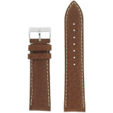 Water Resistant Brown Mens Watch Band Waterproof TSA459