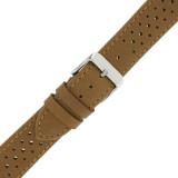 Tan Leather Watch Band Mens TSA420 | Buckle