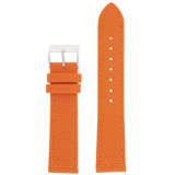 Orange Canvas Watch Band | Orange Water Resistant Strap | TechSwiss LEA1230 | Main
