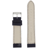 Blue Canvas Watch Band  Navy Water Resistant Watch Strap   TechSwiss LEA1240   Lining