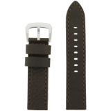 Men's Water Resistant Watch Band Brown LEA1375