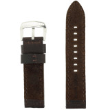 Inside Photo Watch Band Brown Leather LEA1375