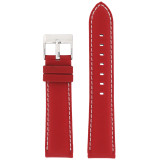 Nylon Red Water Resistant Watch Band | Sporty Watch Bands | TechSwiss LEA620 | Main
