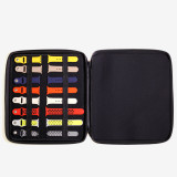 Apple Watch Portfolio Case | Apple Watch Strap Organizer | Apple Watch Strap Storage | Apple Portfolio | TechSwiss Apple Watch Portfolio | TSEVA1600 | Main