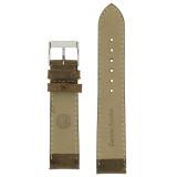 Brown Vintage Leather Watch Strap   Textured Brown Leather Watch Band   Distressed Brown Leather Watch Band   TechSwiss Brown Watch Strap LEA354   Lining