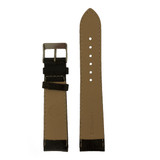 21mm Watch Band Leather Lite Padded Brown Vintage