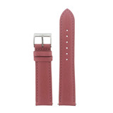 Pink Rose Leather Watch Band | TechSwiss  Leather Watch Bands  | LEA568 | Front