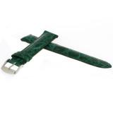Genuine Crocodile Green Watch Band Padded