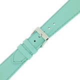 Patent Leather Mint Blue Ladies Length - 12mm  18mm 20mm - Quick-Release