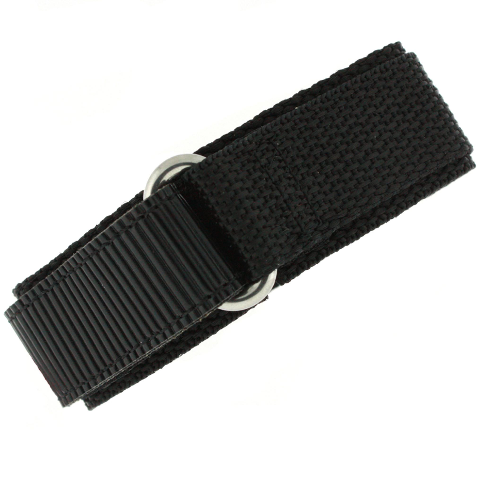 6cfd14c34 Black Velcro Watch Band   TechSwiss Black Velcro Watch Strap   VEL100BLK    Main