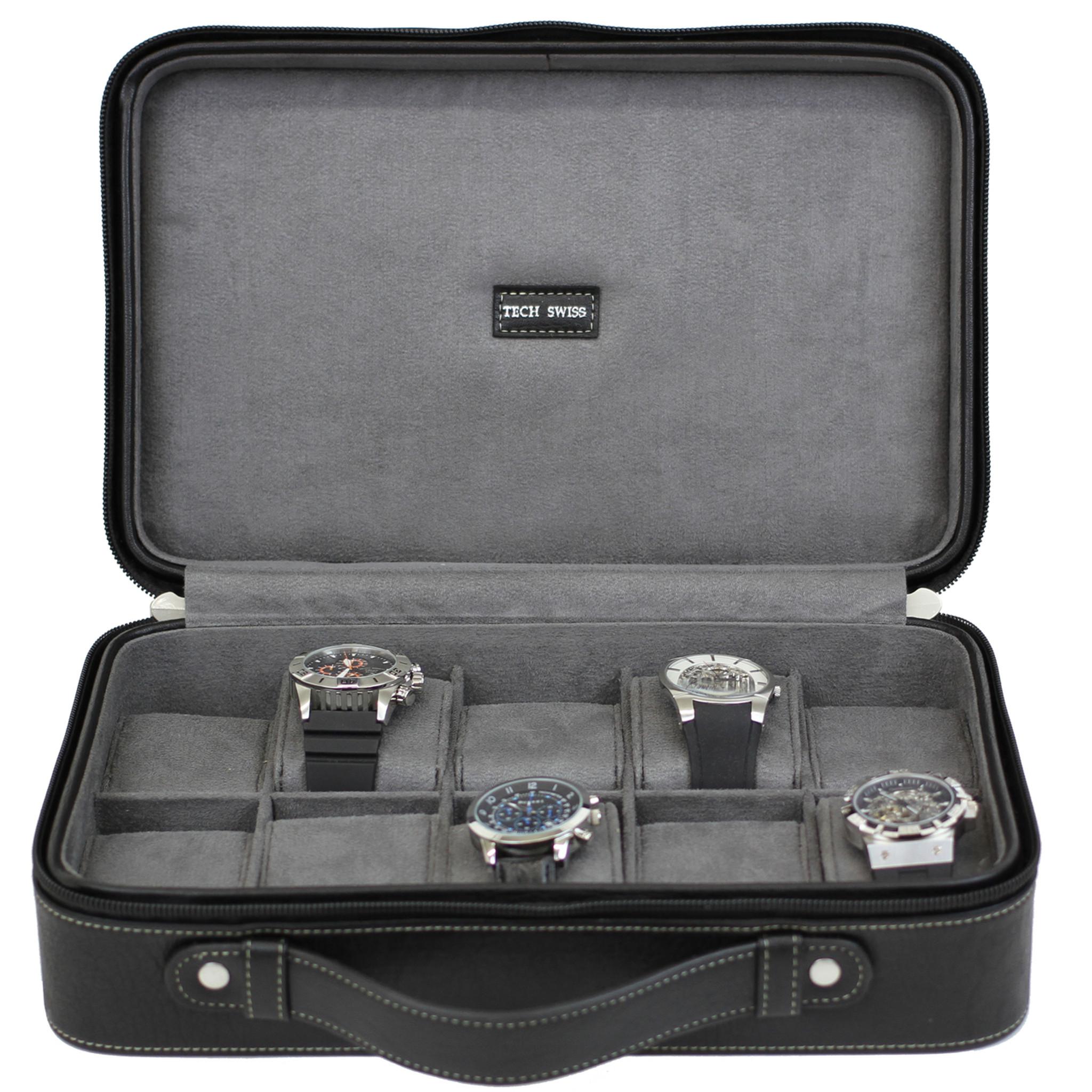 Charmant Travel Briefcase Watch Box