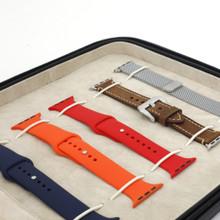 Leather Portfolio Apple Watch Band Case