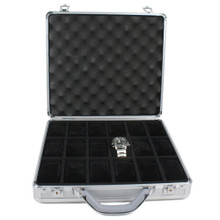 Aluminum Briefcase Watch Case