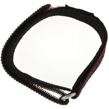 Brown Velcro Watch Band | TechSwiss Brown Velcro Watch Strap | VEL100BRN | Side Loop