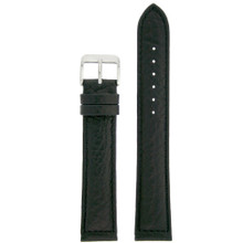 Extra Long Vintage Leather Watch Band | Textured Leather Watch Straps | TechSwiss LEA1420 | Main
