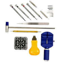 Watch Repair Tool Kit with Band Changing, Link Remover, Band Sizing Tools