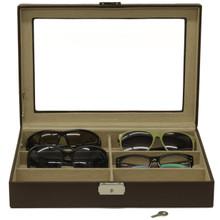 Leather Sunglasses & Eyeglasses Case