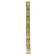 12mm-14mm Watch Band Expansion Metal Stretch Two-Tone Fits Ladies