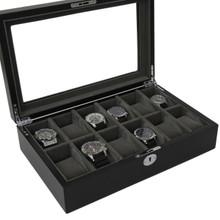 Black & Grey Watch Case