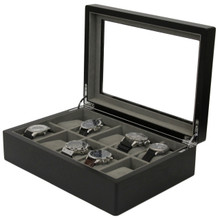 Watch Box For 10 Watches TSBOX10ESSBK