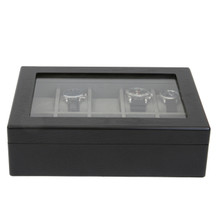 Watch Box For 10 Watches Back View TSBOX10ESSBK