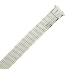 Speidel 18-22MM Silver Ultra Thin Tapered Expansion Watch Band