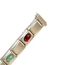 Silver-Tone Watch Stretch Band TSMET130