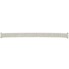 Lades Expansion metal watch band side view | TechSwiss MET164 | Replacement Straps | Full View