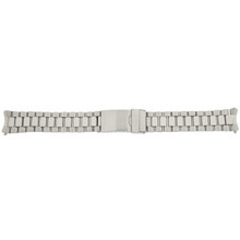 Watch Band Oyster Style Link Metal Stainless Steel Mens Band