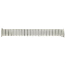 Watch Band Expansion Metal Stretch Silver-Tone 17mm- 22mm