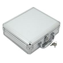 Aluminum Watch Case - 8 Watch Box - TechSwiss - TSBOXAL8 - Standing View