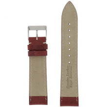 Inside Watch Band Waterproof Leather Red TSA458