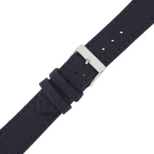 Blue Canvas Watch Band| Navy Water Resistant Watch Strap | TechSwiss LEA1240 | Buckle