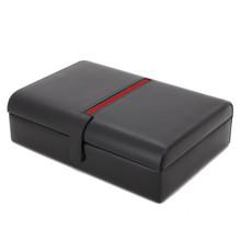Leather Watch Box TechSwiss TS8654BRN