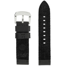 LEA1370 Black Water Resistant Watch Strap