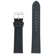 Grey Watch Band Snake Grain | Tech Swis LEA1145 | Front
