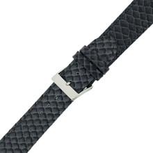 Snake Grey Watch Band | Tech Swis LEA1145 | Buckled