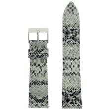 Grey Watch Band Snake Grain | Tech Swis LEA1124 | Front