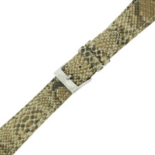 Snake Watch Band Leather Grain | TechSwiss LEA1123 | Buckled