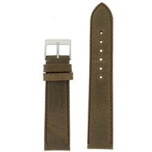 Brown Vintage Leather Watch Strap | Textured Brown Leather Watch Band | Distressed Brown Leather Watch Band | TechSwiss Brown Watch Strap LEA354 | Main