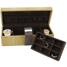 Compact Watch Jewelry Case