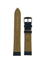 Blue leather XL watch band