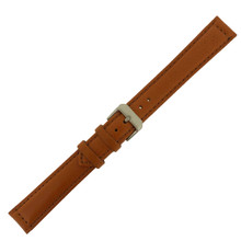 Large Long Watch Band | Leather Band Tan | TechSwiss | Buckled
