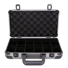 aluminum box for watches fit 12 watches up to Fits Cases up to 58mm front open